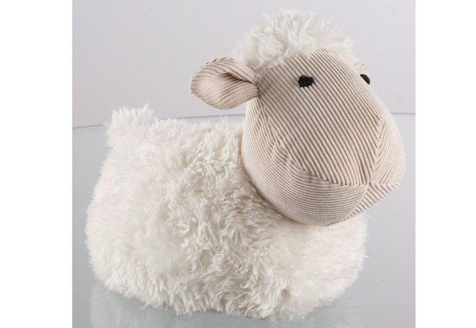 Türstopper Schaf in weiß