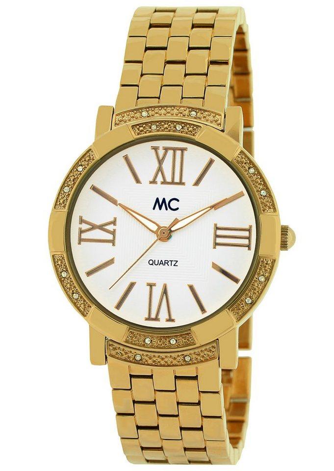 """MC, Armbanduhr, """"51511"""" in goldfarben"""