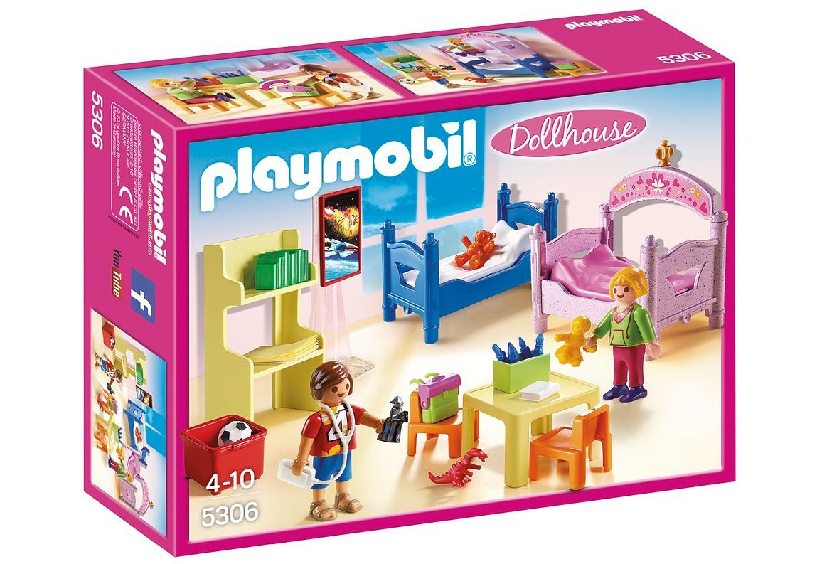 Playmobil® Buntes Kinderzimmer (5306), Dollhouse