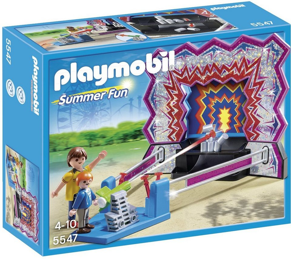 Playmobil® Dosen-Schießbude (5547), Summer Fun in blau
