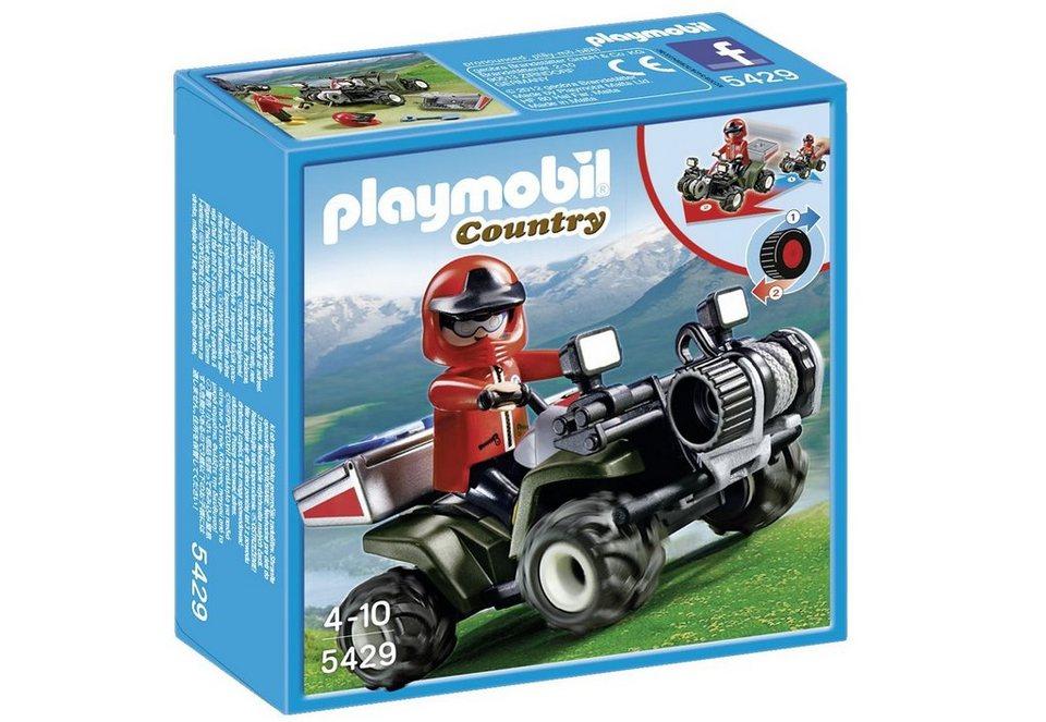 Playmobil® Bergrettungs-Quad (5429), Country in blau