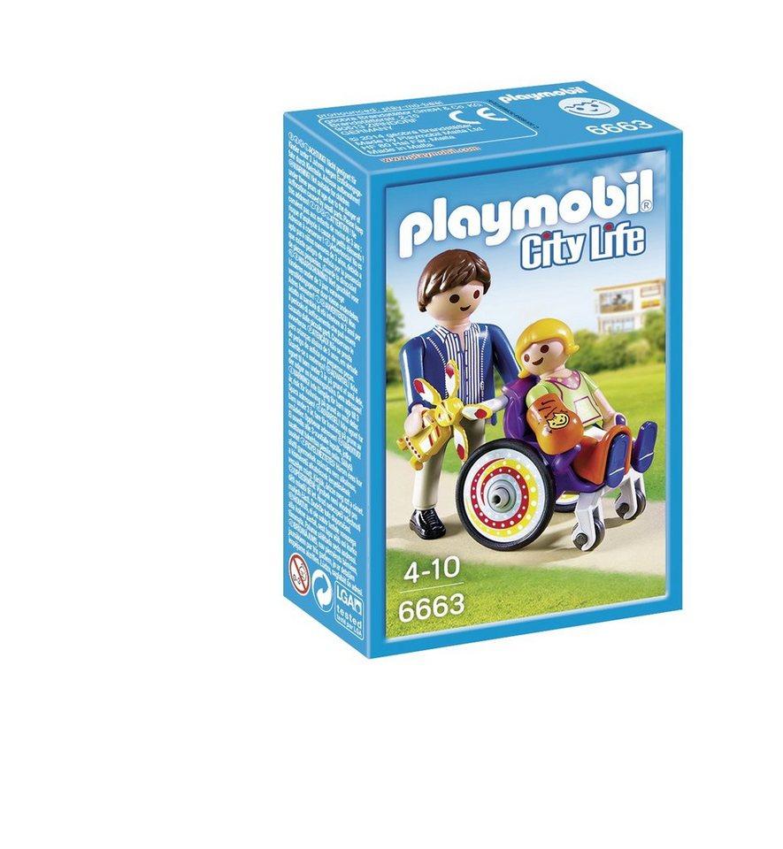 Playmobil® Kind im Rollstuhl (6663), City Life