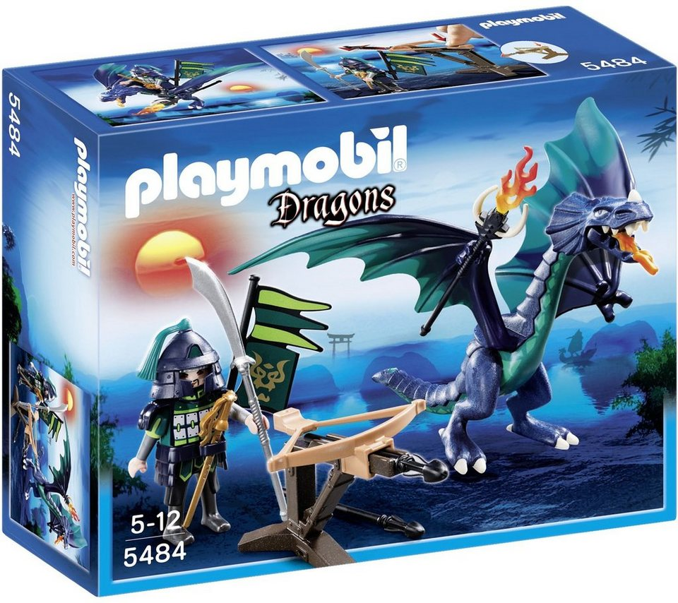 Playmobil® Panzerdrache (5484), Dragons in grün