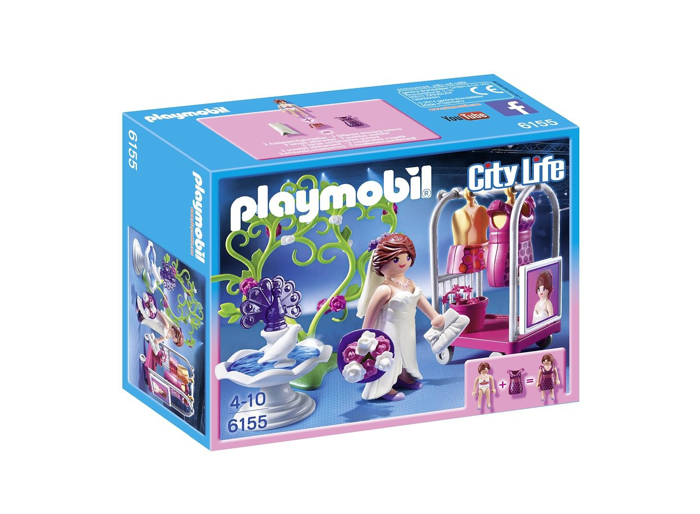 Playmobil® Hochzeits-Shooting (6155), City Life