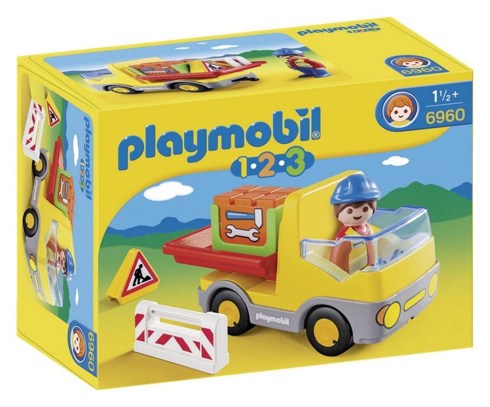 Playmobil® Muldenkipper (6960), Playmobil 1-2-3