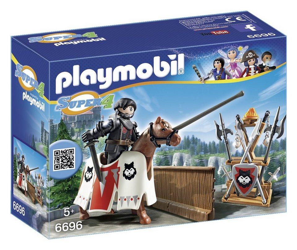Playmobil® Rypan - Wache des Schwarzen Barons (6696), Super 4® in blau