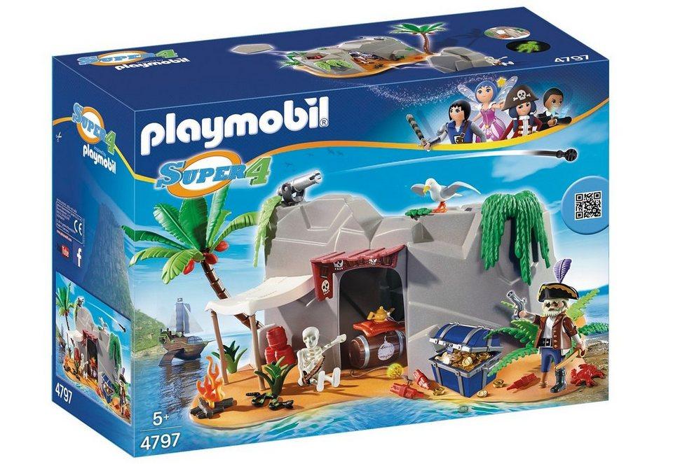 Playmobil® Piraten-Höhle (4797), Super 4® in weiß