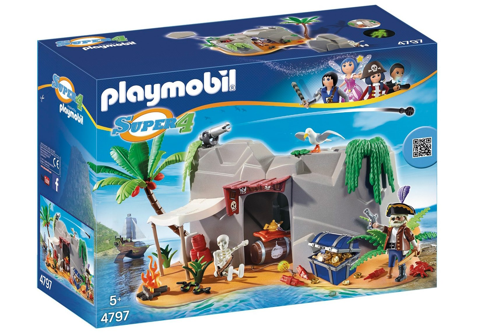 Playmobil® Piraten-Höhle (4797), Super 4®