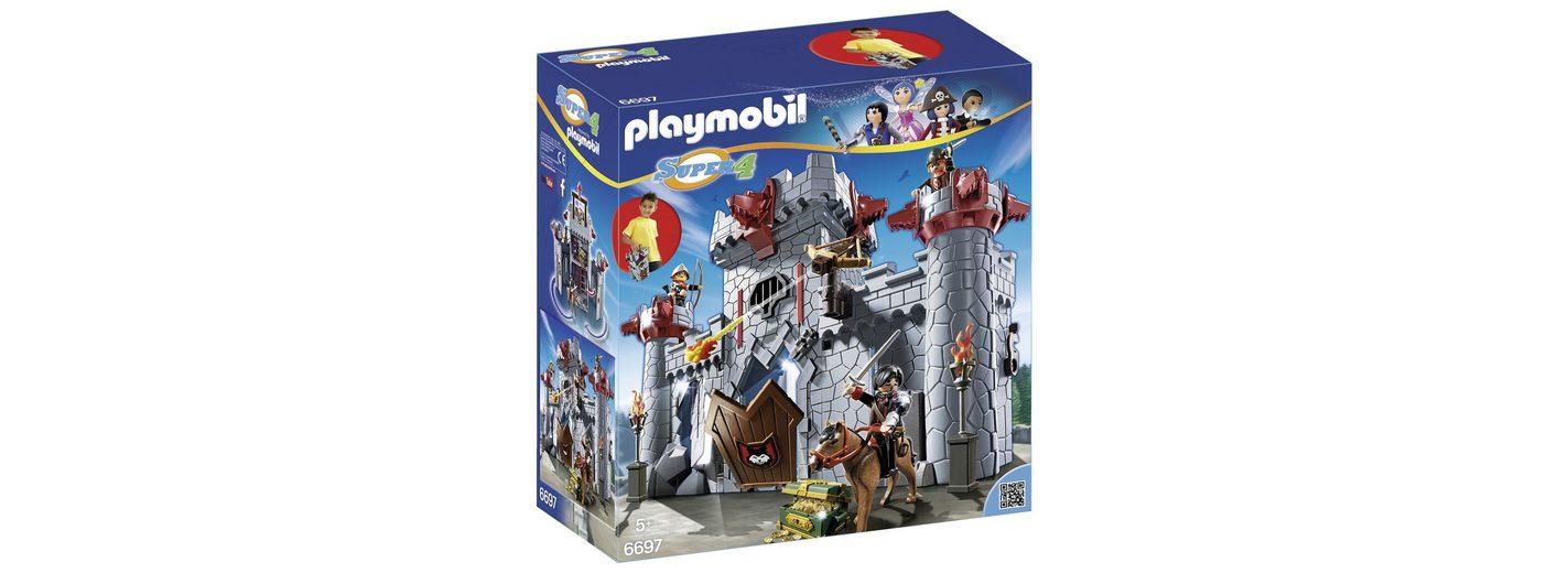 Playmobil® Burg des Schwarzen Barons zum Mitnehmen (6697), Super 4®