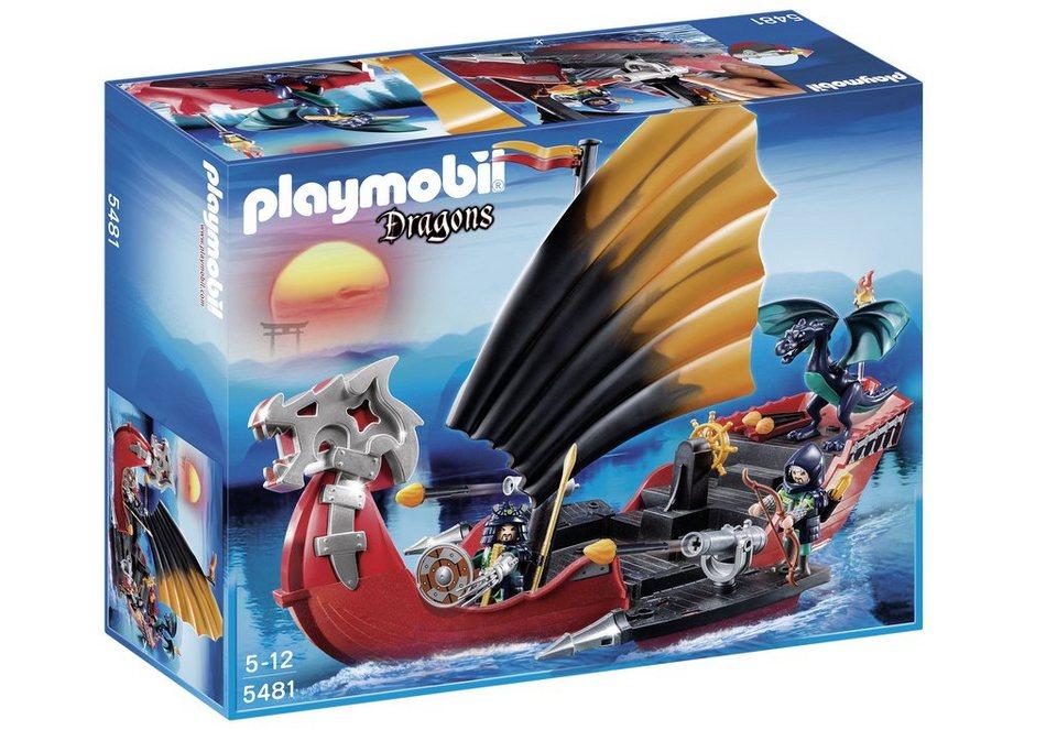 Playmobil® Drachen-Kampfschiff (5481), Dragons in weiß