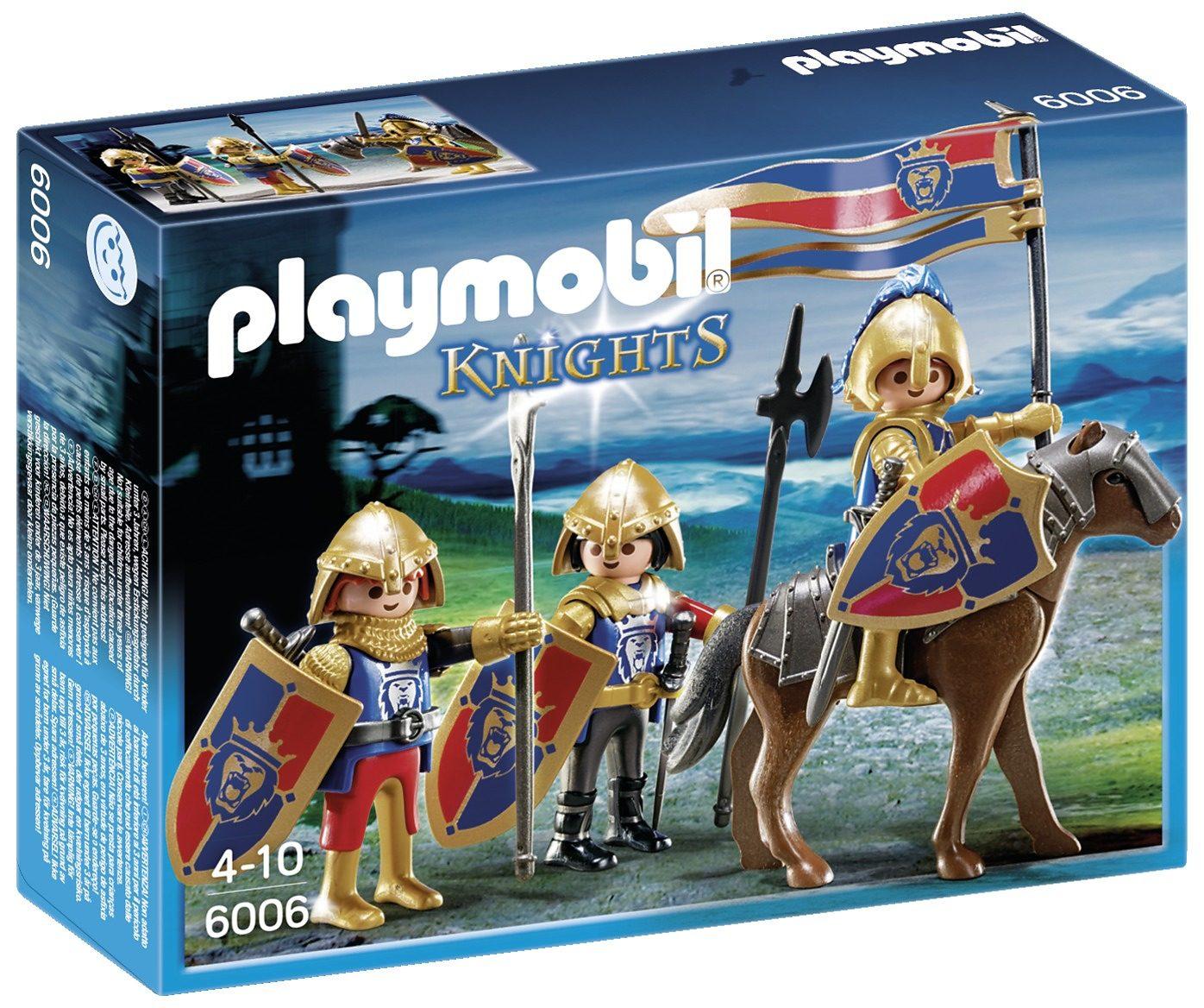 Playmobil® Spähtrupp der Löwenritter (6006), Knights