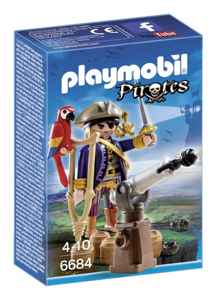 Playmobil® Piratenkapitän (6684), Pirates