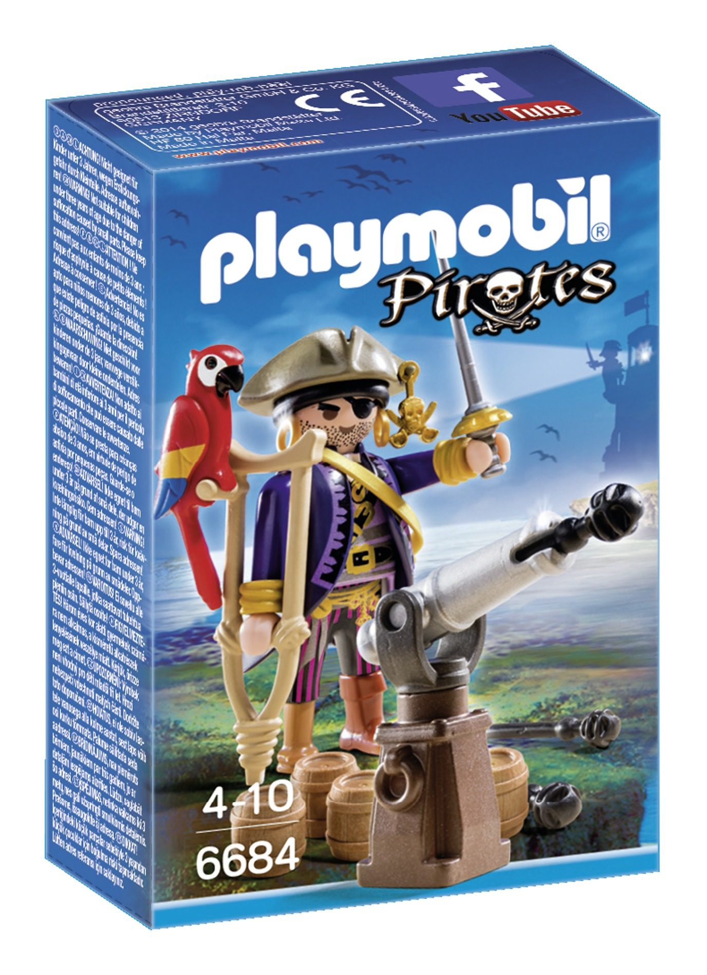 Playmobil® Piratenkapitän (6684), Pirates