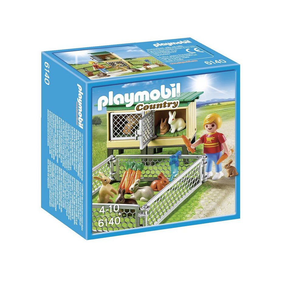 Playmobil® Hasenstall mit Freigehege (6140), Country