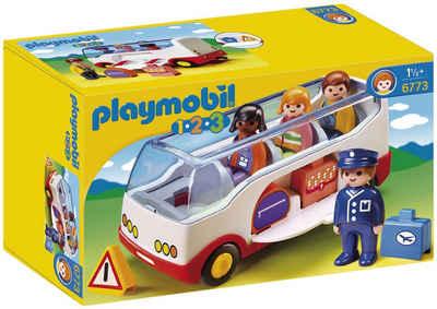 Playmobil® Konstruktions-Spielset »Reisebus (6773), Playmobil 1-2-3«, Made in Europe
