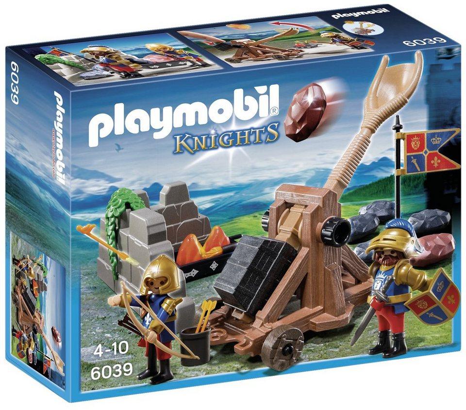 Playmobil® Angriffskatapult der Löwenritter (6039), Knights