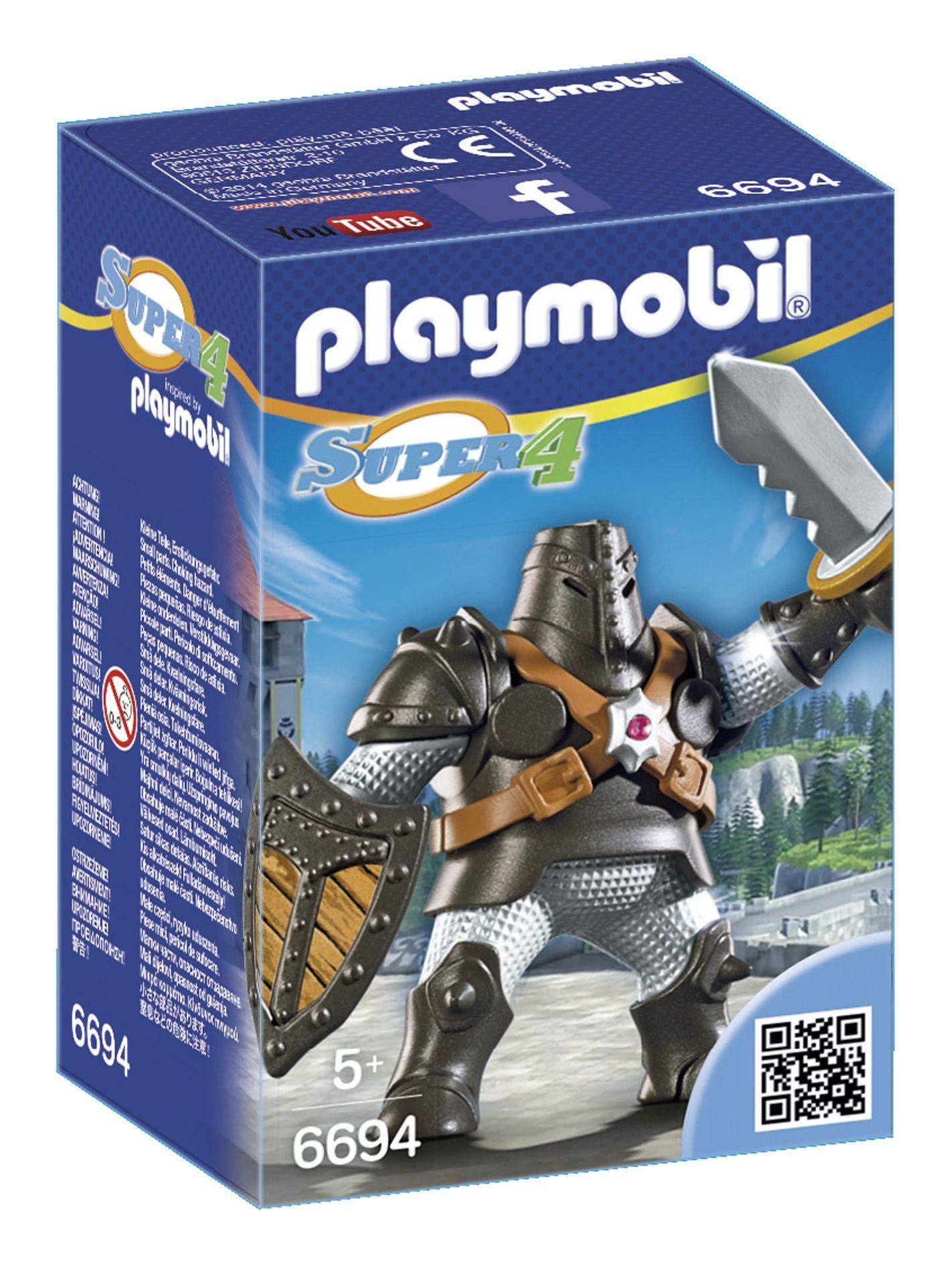 Playmobil® Schwarzer Koloss (6694), Super 4®