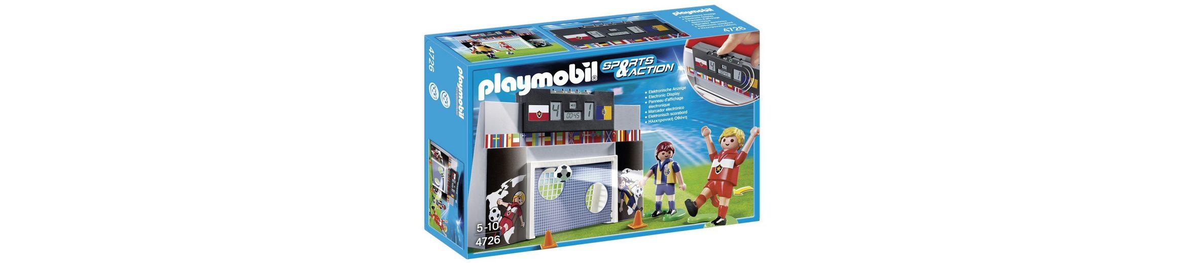 Playmobil® Torwand mit Multifunktions-Anzeige (4726), Sports & Action