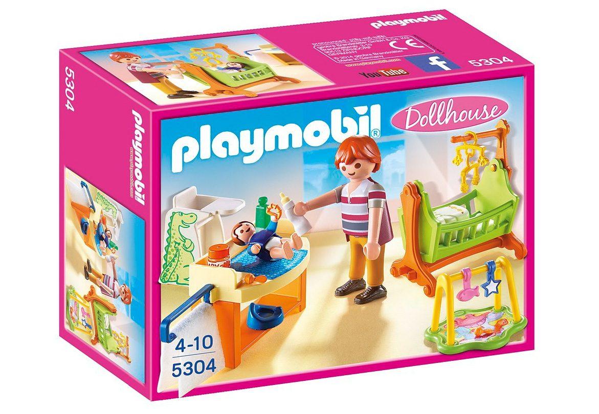 Playmobil® Babyzimmer mit Wiege (5304), Dollhouse