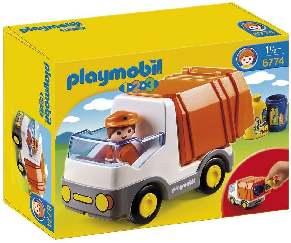 Playmobil® Müllauto (6774), Playmobil 1-2-3