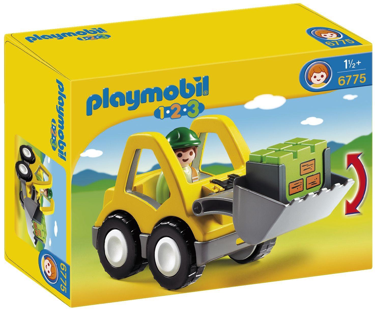 Playmobil® Radlader (6775), Playmobil 1-2-3