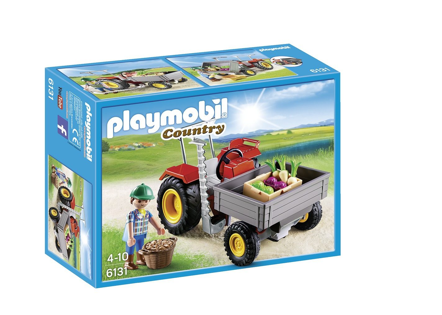 Playmobil® Ladetraktor (6131), Country
