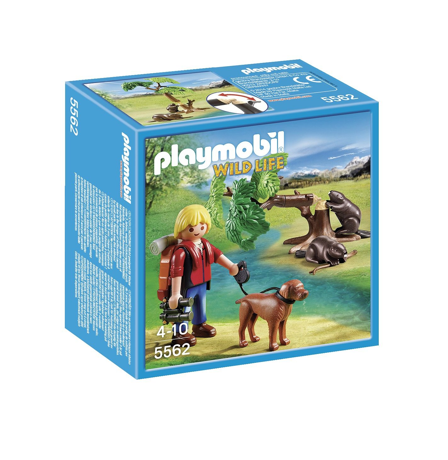 Playmobil® Biberbaum mit Naturforscher (5562), Wild Life