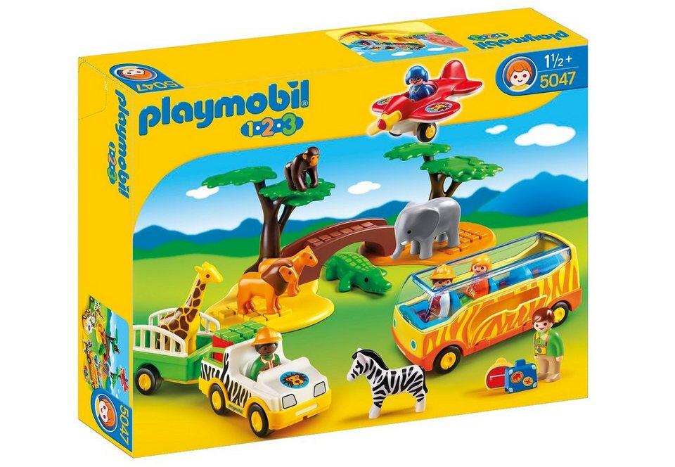 Playmobil® Große Afrika-Safari (5047), Playmobil 1-2-3 in bunt