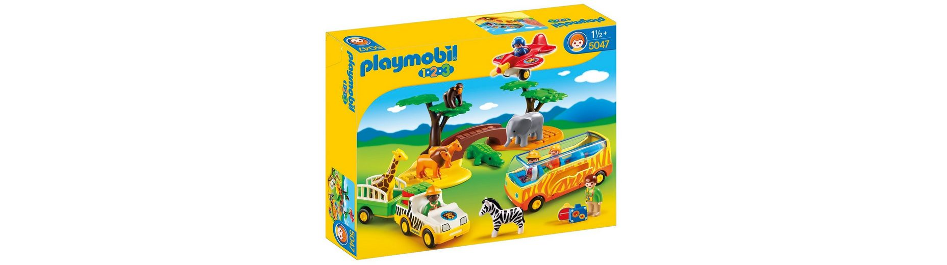 Playmobil® Große Afrika-Safari (5047), Playmobil 1-2-3