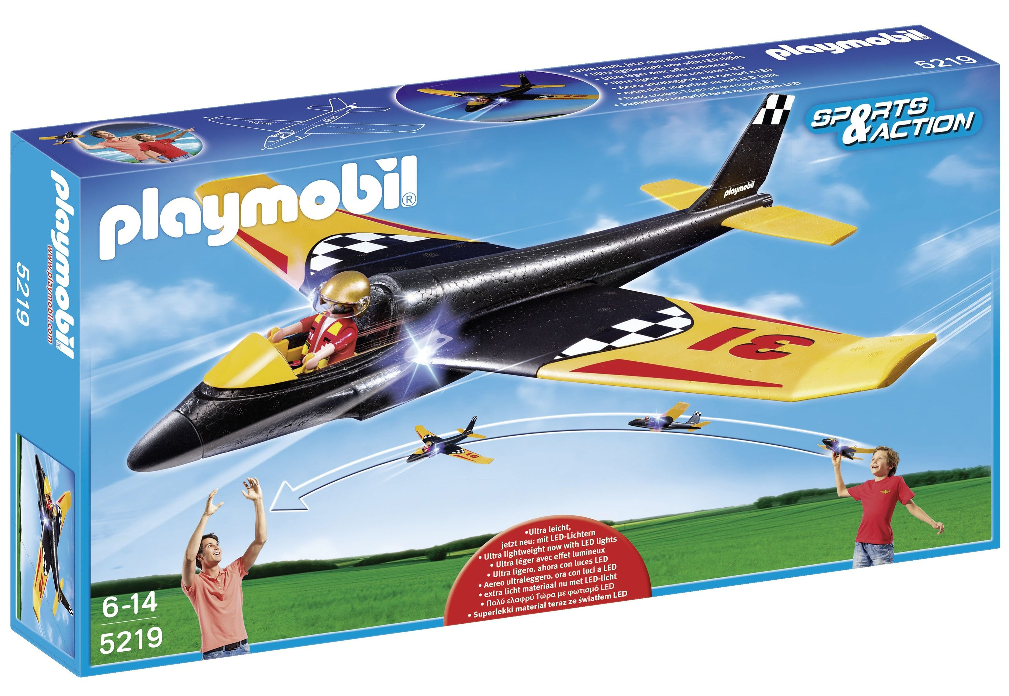 Playmobil® Race Glider (5219), Sports & Action
