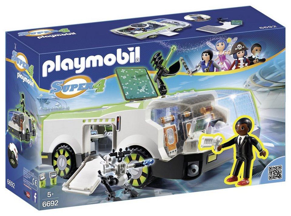 Playmobil® Techno Chamäleon mit Agent Gene (6692), Super 4®