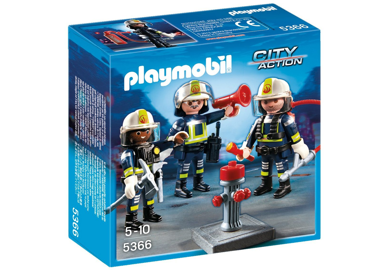 Playmobil® Feuerwehr-Team (5366), City Action