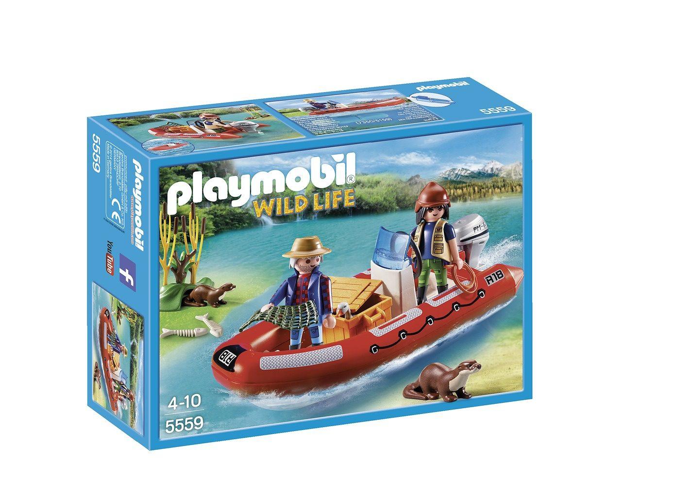 Playmobil® Schlauchboot mit Wilderern (5559), Wild Life