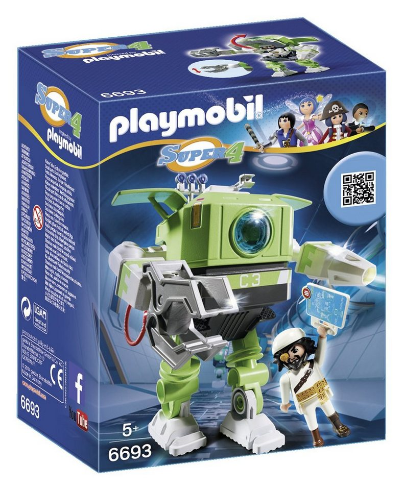 Playmobil® Cleano-Roboter (6693), Super 4®