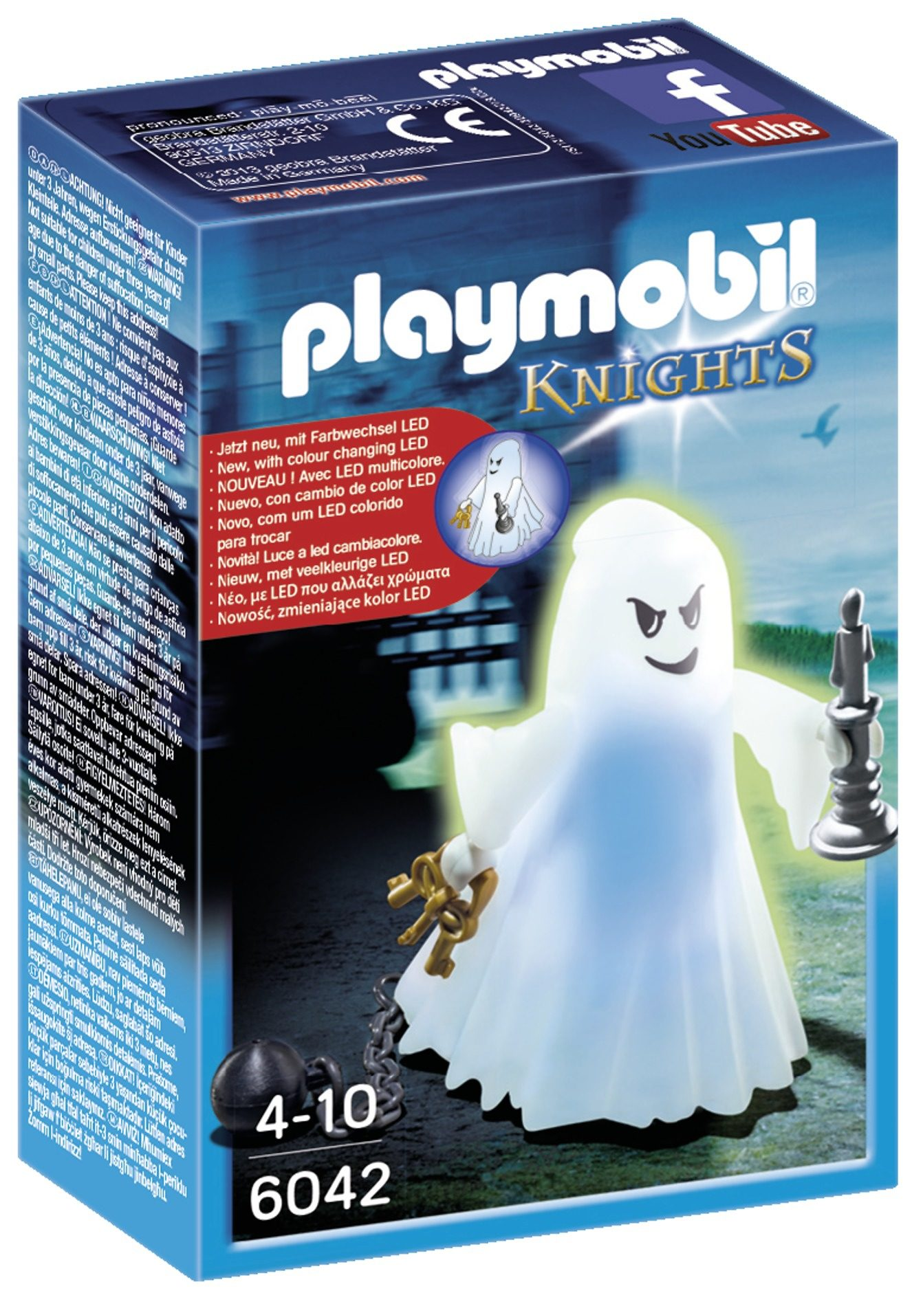 Playmobil® Gespenst mit Farbwechsel-LED (6042), Knights