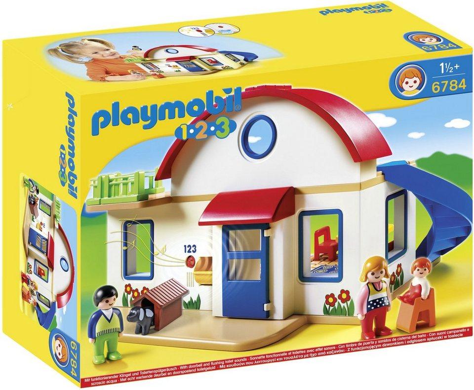 Playmobil® Wohnhaus (6784), Playmobil 1-2-3