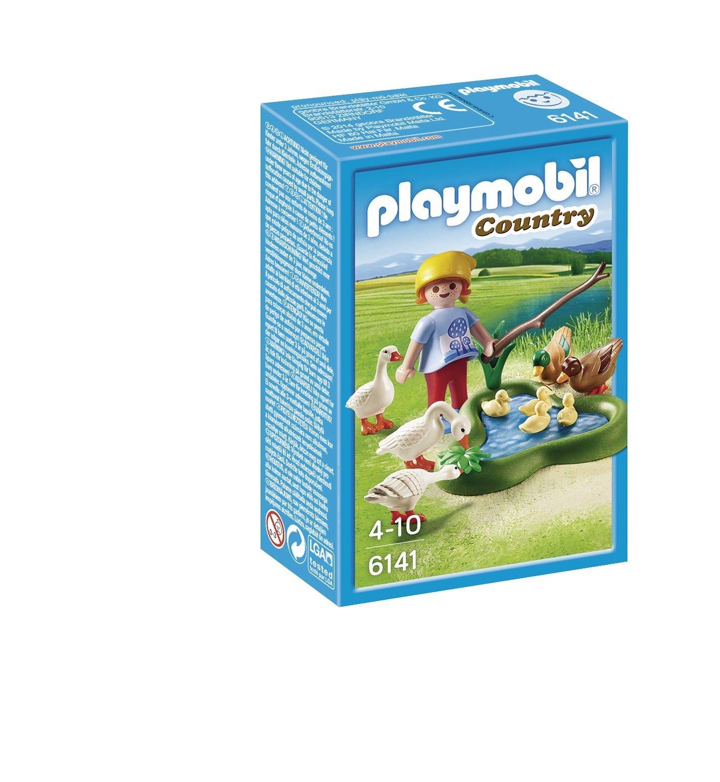 Playmobil® Enten und Gänse am Teich (6141), Country