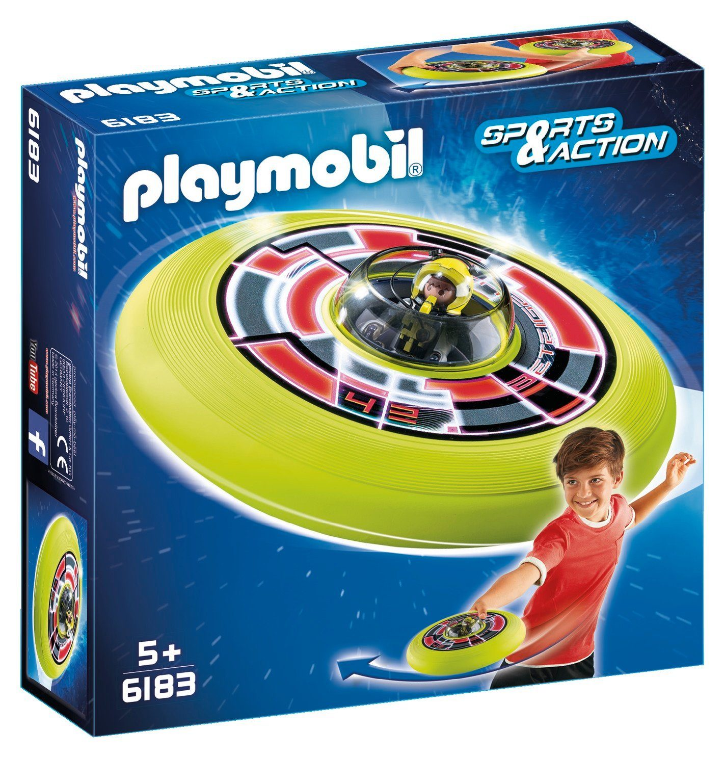 Playmobil® Super-Wurfscheibe Astronaut (6183), Sports & Action