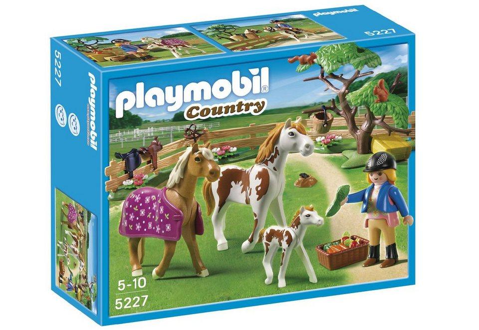 Playmobil® Pferdekoppel (5227), Country in bunt
