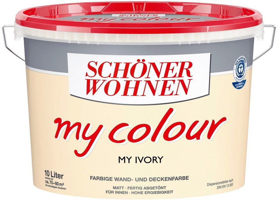 Innenfarbe »My Color 10,0L my ivory« in my ivory