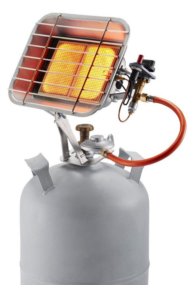 Rowi Gas-Aufsteckstrahler »HGS 4400/1 P« in silberfarben