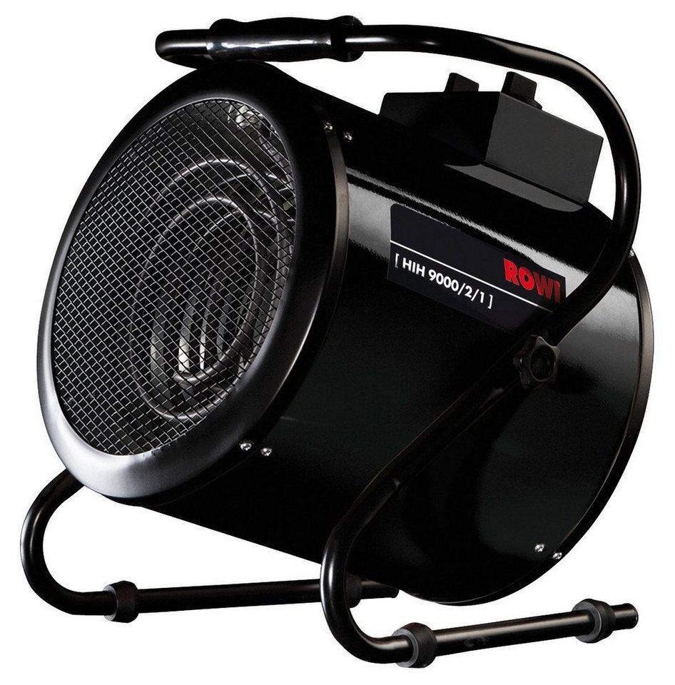 Industrie-Heizgebläse elektrisch »HIH 9000/2/1« in schwarz