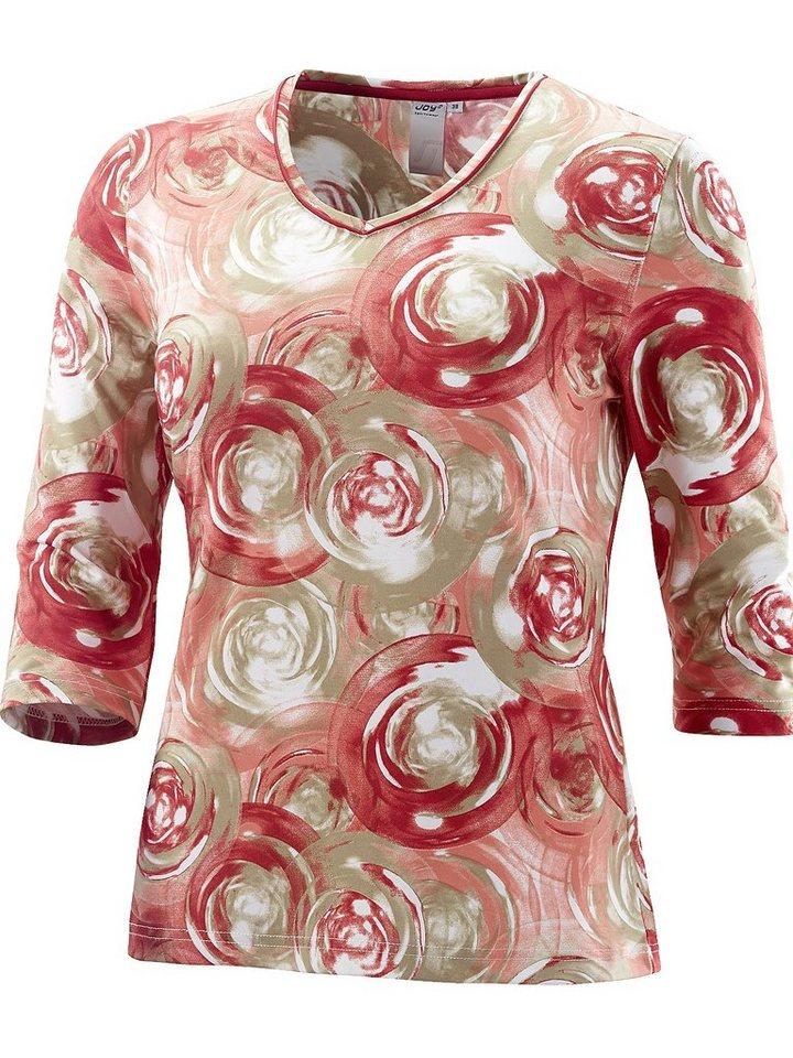 JOY sportswear T-Shirt »ALETTA« in tabasco print