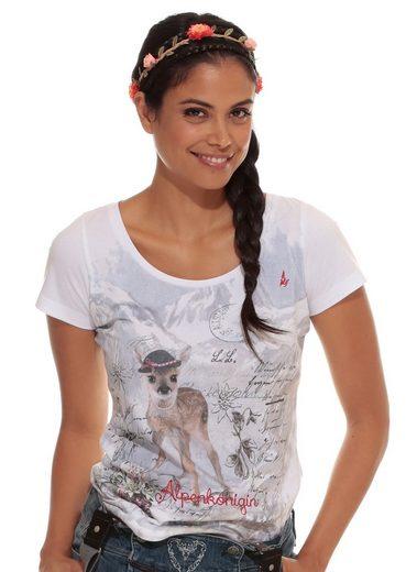 Stockerpoint Trachtenshirt Damen mit Stickerei