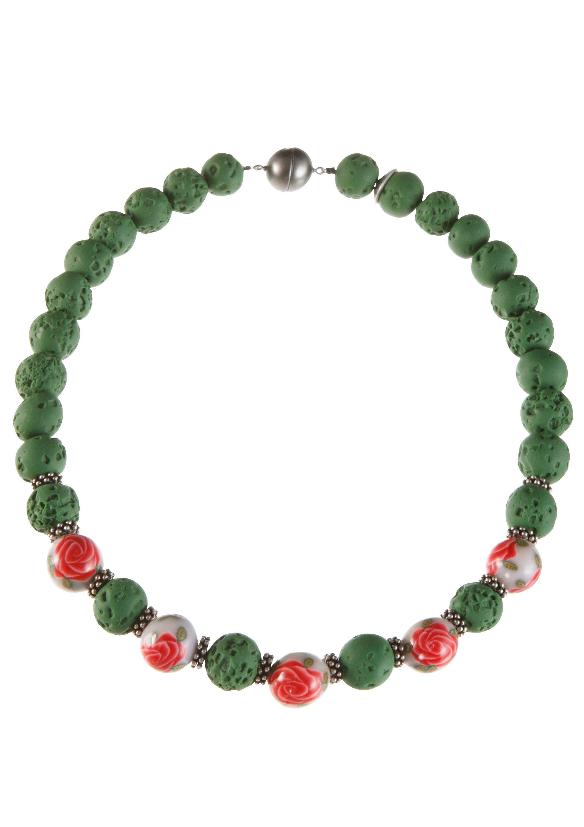 K&K Kunstduo Trachten-Halskette mit Magnetverschluß