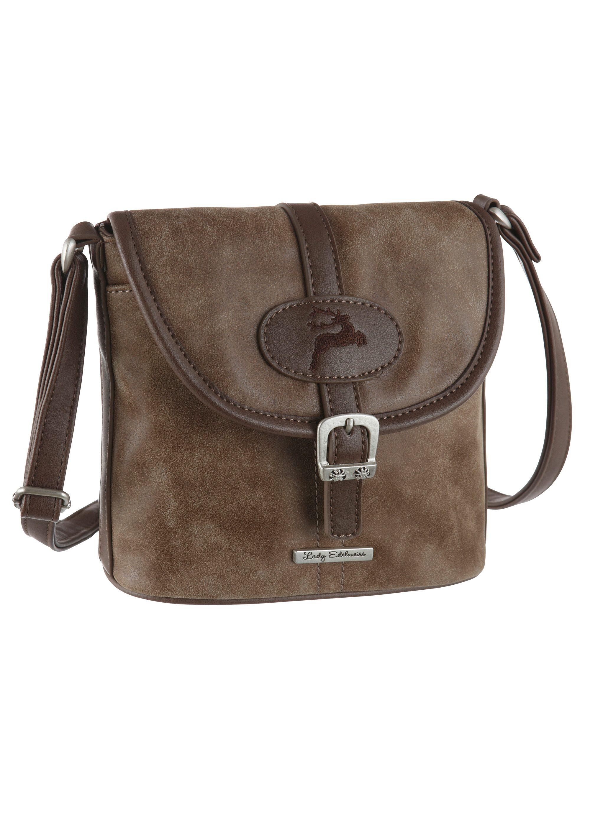 Lady Edelweiss Trachtentasche mit verstellbaren Trägerriemen