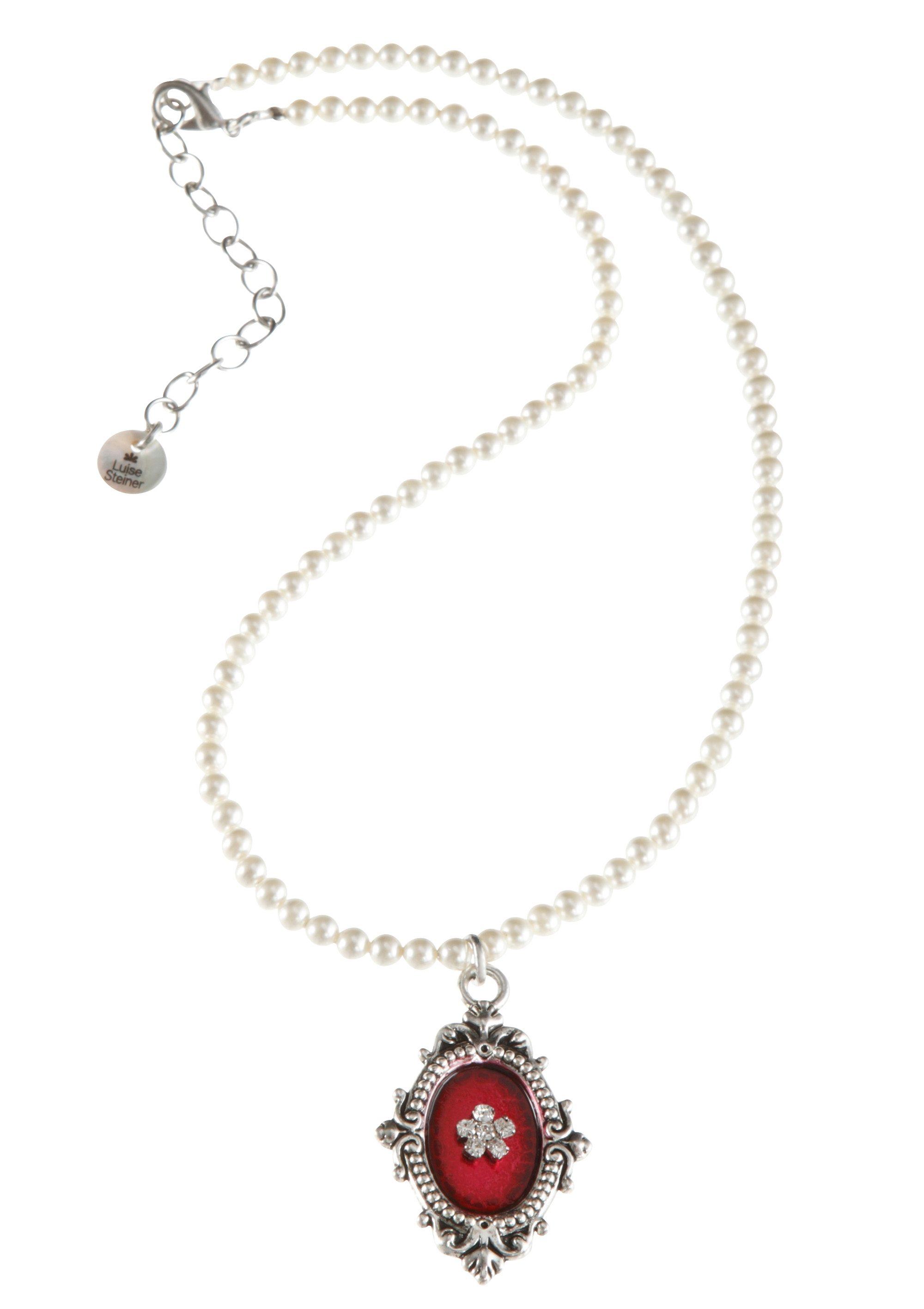 Trachten-Halskette mit Medaillonanhänger