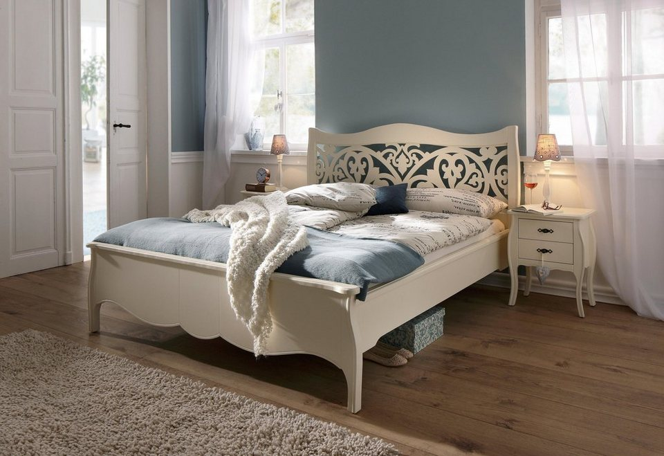 Premium collection by Home affaire Bett »Sophia« in cremeweiß