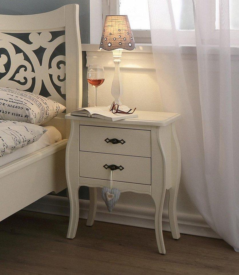 Premium collection by Home affaire Nachttisch »Sophia« in cremeweiß