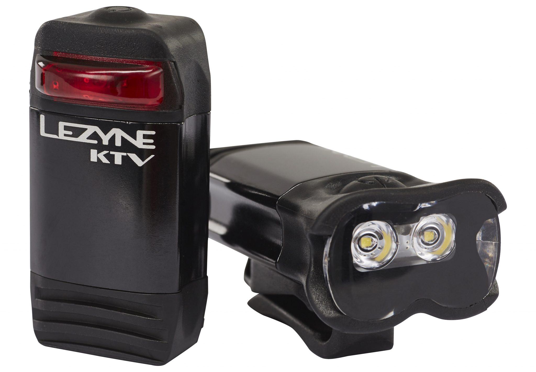 Lezyne Fahrradbeleuchtung »KTV Drive Pro + KTV Drive Set schwarz glänzend«